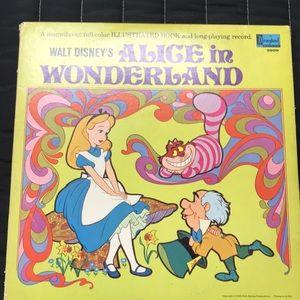 Alice in Wonderland vintage Record book